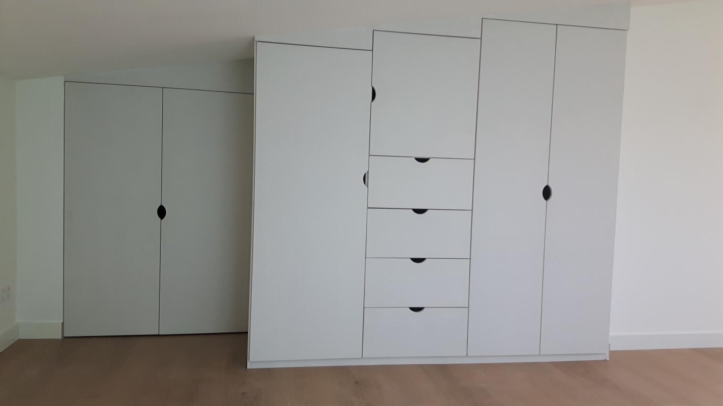 Garderobekast zolderverdieping