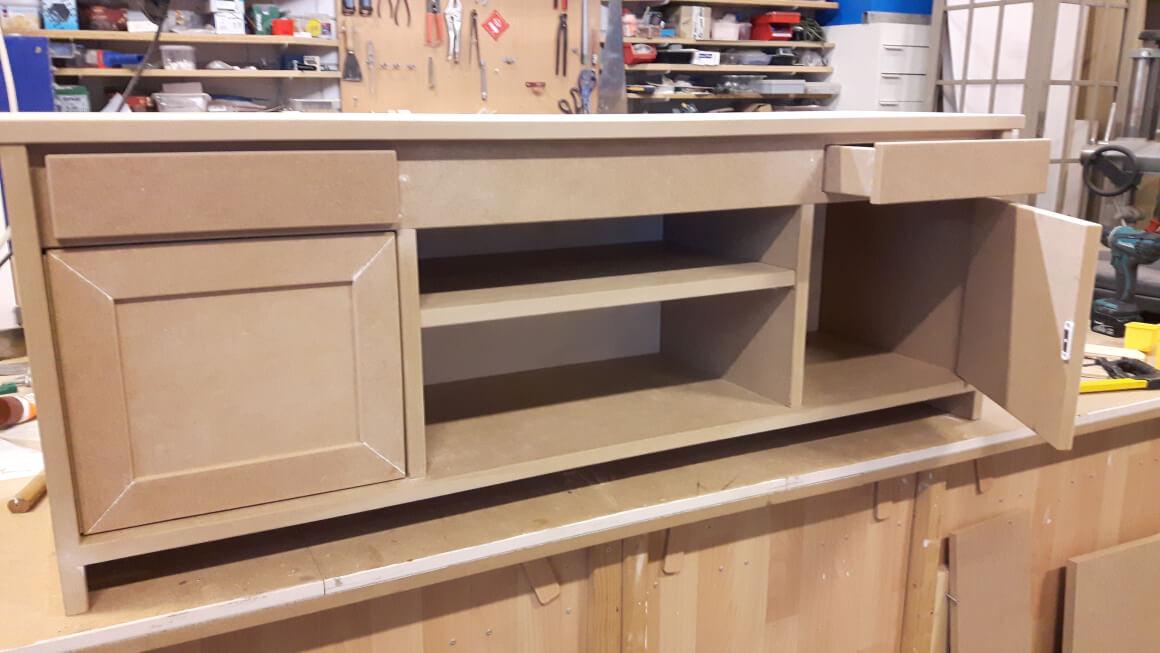 Audio / TV meubel, MDF met laden