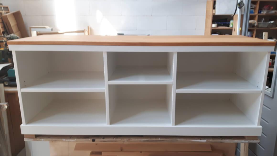Audio / TV meubel, zonder deurtjes